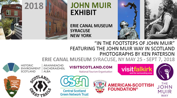 John Muir Exhibit, Erie Canal Museum, Syracuse New York