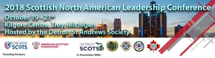 2018 Scottish North American Leadership Conference