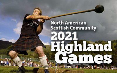 2021 Highland Games & Festivals Update