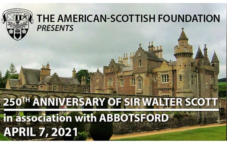 250th Anniversary of Sir Walter Scott