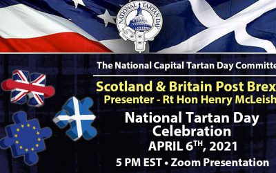 National Tartan Day Presentation – Scotland & Britain Post Brexit