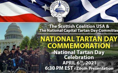 National Tartan Day Commemoration