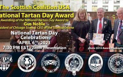 2021 National Tartan Day Award