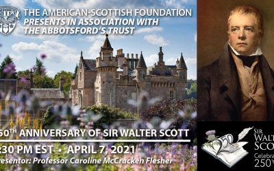 250th Anniversary of Sir Walter Scott and Abbotsford