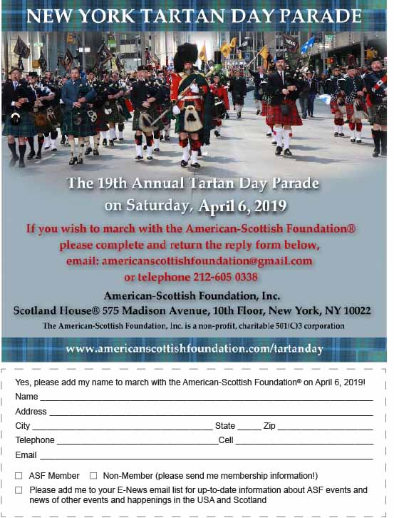 American Scottish Foundation - Tartan Week